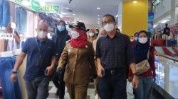 Cek Protokol Kesehatan, Walikota Bandarlampung Sidak di Pasar Modern