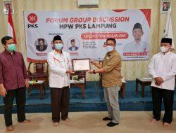 PKS Lampung Gelar FGD Pencalegan Dini