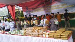 Dit Narkoba Polda Lampung Berhasil Ungkap Kasus  6 Kg Sabu dan 4 Kg Ganja