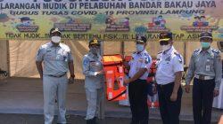 PT Jasa Raharja Cabang Lampung Pantau Lakalantas Lebaran 2021