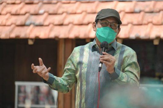 Menteri Desa Pembangunan Daerah Tertinggal dan Transmigrasi (Mendes PDTT) Abdul Halim Iskandar