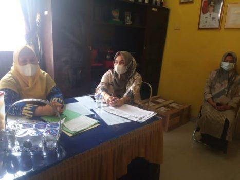 Direktur RSUD H.M. Ryacudu Lampung Utara, Sri Haryati (kiri)