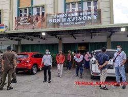 Kedai Bakso Lapangan Tembak Senayan dan Lima Kedai Bakso Sony di Bandarlampung Disegel