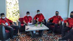 Pengurus DPD BMI Lampung, Ketua Piego (nomor tiga dari kanan), Sekertaris Irwansyah (pojok kiri).