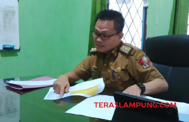Kepala BPBJ Setdakab Lampung Utara, Chandra Setiawan menjelaskan jumlah paket pekerjaan yang telah mendapatkan pemenangnya