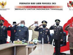 Gubernur Arinal Djunaidi Ikuti Upacara Peringatan Hari Lahir Pancasila
