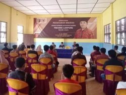 Ali Imron Sosialisasi Perda Rembuk Desa di Brasakti