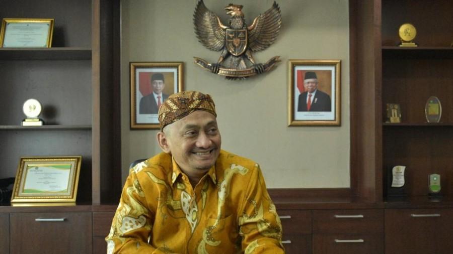 Direktur Kurikulum, Sarana, Kelembagaan, dan Kesiswaan (KSKK) Madrasah M Ishom Yusqi