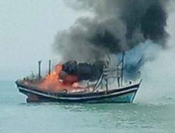 Soal Pembakaran Kapal di Perairan Tanggamus, Ini Kata Polda Lampung
