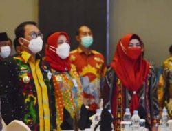 Walikota Eva Dwiana Hadiri Pertemuan dengan Mendagri dan OJK Terkait Saham Bank Lampung