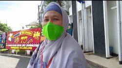 Direktur RSUD H.M. Ryacudu Lampung Utara, Sri Haryati menjelaskan perkembangan terakhir seputar kondisi persediaan obat - obatan di RS yang dipimpinnya