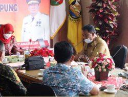 Pengurus Apindo Lampung Silaturahmi dengan Walikota Bandarlampung