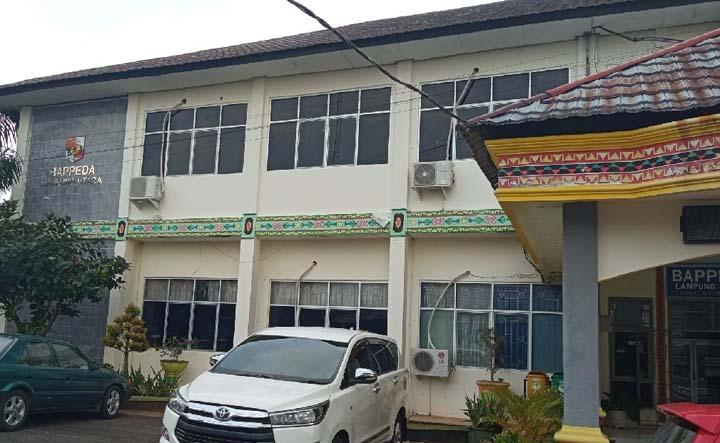 Kantor Bappeda Lampung Utara. Foto: Teraslampung.com/Feaby Handana