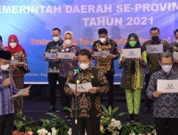 Gubernur Lampung Hadiri Penandatanganan dan Deklarasi Komitmen Kepala Daerah dalam Penyelenggaraan Pelayanan Publik
