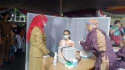 Vaksinasi Covid-19 Dosis Pertama untuk Umum di Bandarlampung, Ini Pesan Walikota