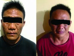 Dua Pengedar Sabu Dibekuk Polisi di Bandarlampung