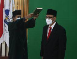 Prof. Dr. Eng. Mitra Djamal Resmi Dilantik Sebagai Rektor Itera