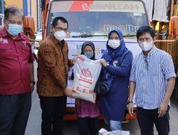 PPKM Darurat, 676.788 KPM di Lampung Terima Bantuan Beras