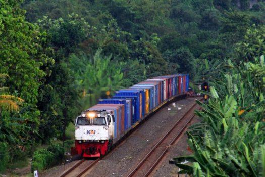 Kereta api barang/Foto: dok PT KAI