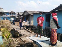 Tiga Rumah di Kelurahan Kangkung Bandarlampung Ambruk Diterjang Ombak