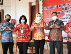 Pemkab Tulangbawang Raih Penghargaan Kabupaten Layak Anak 2021 dari Kemen PPPA