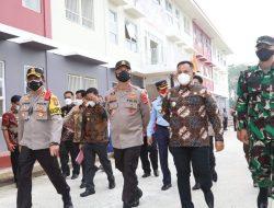 Tinjau Rusunawa Isolasi Terpusat Pasien Covid-19 di Lamsel, Ini Kata Kapolda Lampung