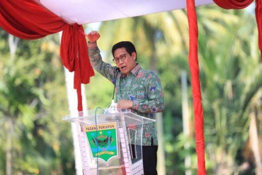 Menteri Halim Iskandar mengatakan itu saat mengunjungi Nagari Toboh Gadang Timur, Kabupaten Padang Pariaman, Jumat (27/8/2021).