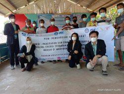 Mahasiswa Itera Bantu Warga Pulau Rimau Buat Teknologi Penyuling Air Laut Tenaga Surya