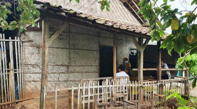 Rumah keluarga Karmila di Dusun Ponorogo, Desa Sidorejo, Kecamatan Sidomulyo, Lampung Selatan.