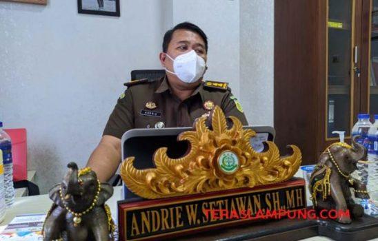 Kepala Seksi Penerangan dan Hukum Kejati Lampung, Andrie W Setiawan