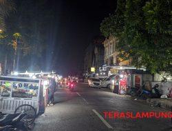 Ini Penyebab Lampu di Sebagian Jalan Utama Kota Bandarlampung Padam di Malam Hari