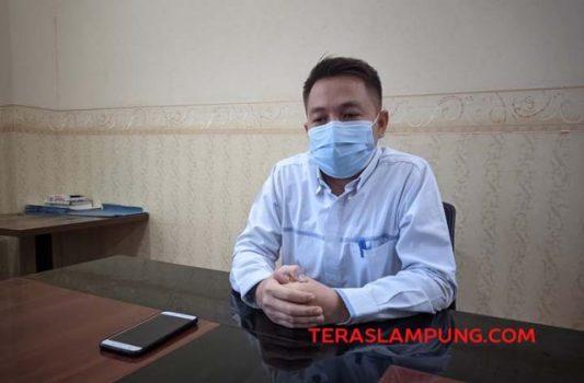 Manajer Usaha PLN Tanjungkarang, Beni Adenita, menjelaskan soal tagihan PLN sebesar Rp18 miliar yang belum dibayar Pemkot Bandarlampung, Selasa (14/9/2021).