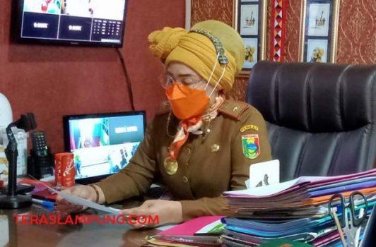 Kadis Pariwisata dan Kebudayaan Tanggamus, Retno Noviana Damayanti (Foto: Teraslampung.com/Siswanto)