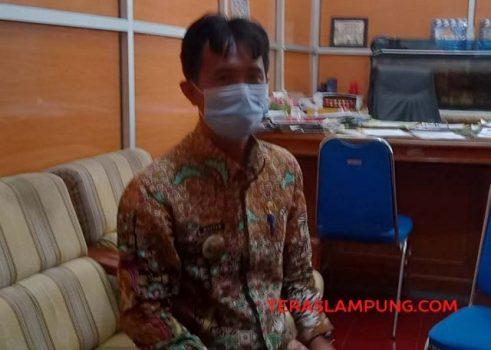 Sekretaris Inspektorat Tanggamus, Gustam Apriyansyah