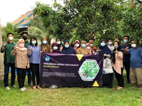 Sosialisasi kepada Pokdakan Mandiri Sentosa, Jatiagung, Lampung Selatan.