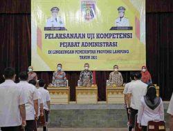 Uji Kompetensi Pejabat Administrasi, Gubernur Minta ASN Jaga Amanah dan Terus Tingkatkan Kompetensi