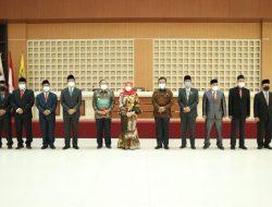 Direksi dan Dewan Pengawas Baru PDAM Way Rilau Dilantik