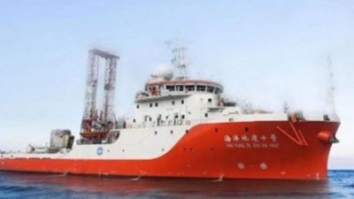 Kapal Survei China Bolak-Balik di Natuna Utara