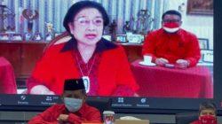 Ketua Umum PDI Perjuangan Megawati Soekarnoputri tampil secara virtual memberi pengarahan dalam sekolah partai untuk kader madya pada Jumat, 10 September 2021. Foto: Istimewa