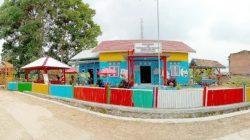 Perpustakaan Puska Mandiri di Pekon (Desa) Puramekar, Kabupaten Lampung Barat
