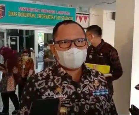 Kadis Pendidikan Lampung, Sulpakar, menjelaskan soal pelaksanaan pembelajaran tatap muka.