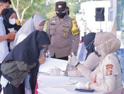 Polda Lampung Siapkan 1.500 Dosis Vaksin 1 dan 2 di UBL