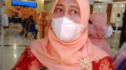 Pelaksana Tugas Kepala Dinas Kesehatan Lampung Utara, Maya Natalia Manan, menjelaskan kebijakan mereka untuk menolong korban begal di Aula Tapis Kantor Pemkab Lampung Utara, Kamis (21/10/2021).
