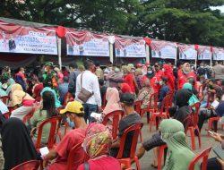 Vaksinasi Covid-19 di Lapangan Saburai, Polda Lampung Siapkan 60 Dosis Vaksin Pfizer