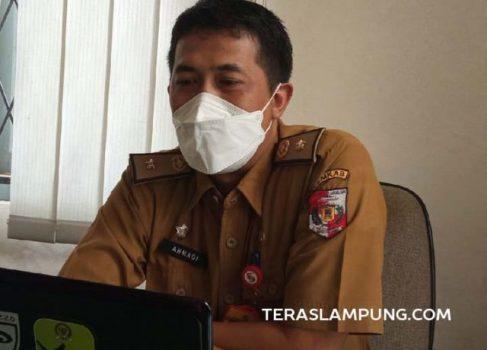 Kepala Bidang Pengadaan, Pemberhentian, Data dan Informasi BKPSDM Lampung Utara, Ahmadi menjelaskan perkembangan terakhir PDM di lingkungan Pemkab Lampung Utara, Senin (11/10/2021).