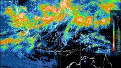 Tangkapan layar hasil citra satelit di Indonesia pada Selasa, 5 Oktober 2021. Sumber:BMKG