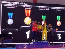 PON XX Papua, Karateka Lampung Ari Saputra Raih Medali Emas