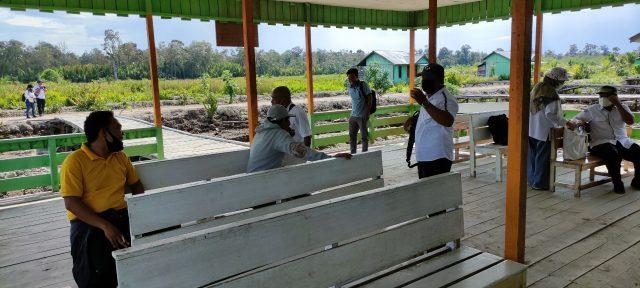 Tim Ditjen PPKTrans Kementerian Desa PDT melakukan kunjungan lapang di Kawasan Transmigrasi Salim Batu Kabupaten Bulungan Provinsi Kalimantan Utara (Kaltara) pada akhir September 2021 lalu.